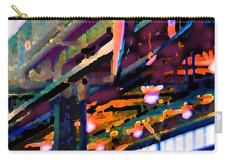 Abstract Carry-all Pouch featuring the photograph panel two from Star Factory by Steve Karol