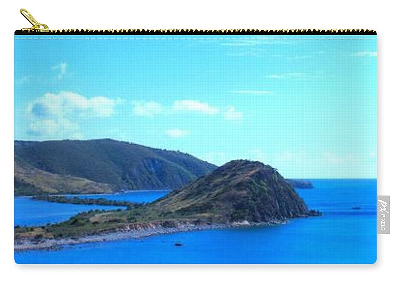 St Kitts Carry-all Pouch featuring the photograph Panhandle by Ian MacDonald