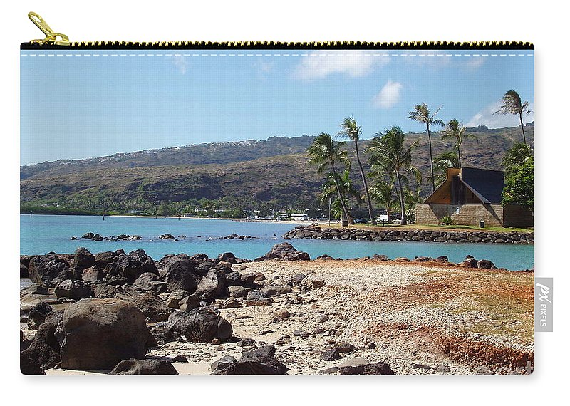 Hawaii Carry-all Pouch featuring the photograph Panorama by Deborah Crew-Johnson