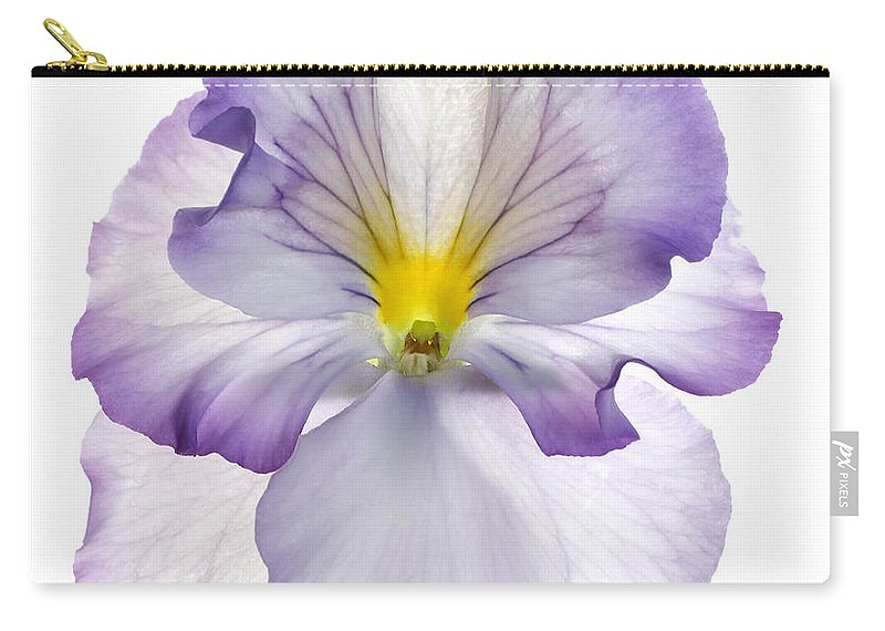 Pansy Genus Viola Carry-all Pouch featuring the photograph Pansy by Tony Cordoza