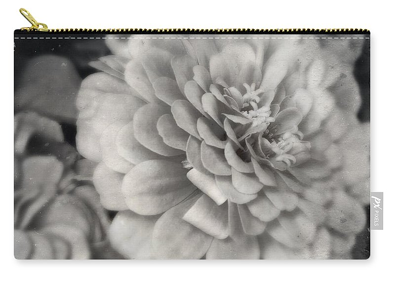 Flower Carry-all Pouch featuring the photograph Paper Mache by Kathleen Messmer