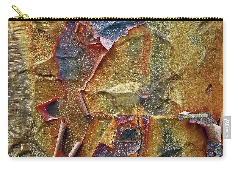 Tree Carry-all Pouch featuring the photograph Paperbark Maple  by Jessica Jenney