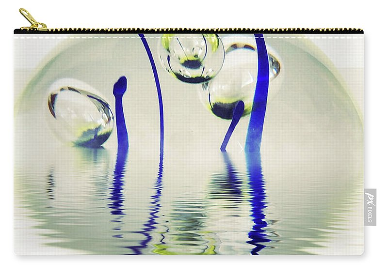 Paperweight Carry-all Pouch featuring the photograph Paperweight No. 12-1 by Sandy Taylor
