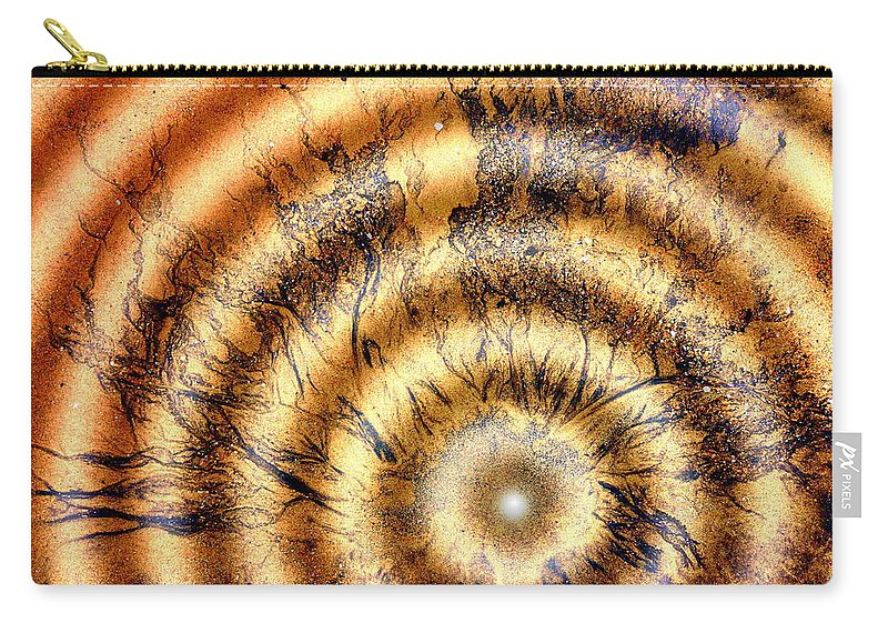 Abstract Photography Carry-all Pouch featuring the photograph Paradigm by Richard Omura