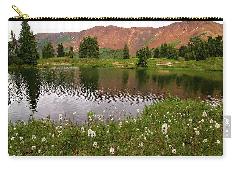 Colorado Carry-all Pouch featuring the photograph Paradise Basin by Steve Stuller