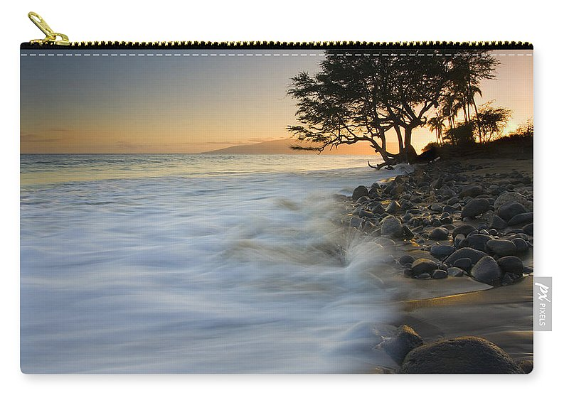 Sunset Carry-all Pouch featuring the photograph PAradise Gold by Mike Dawson
