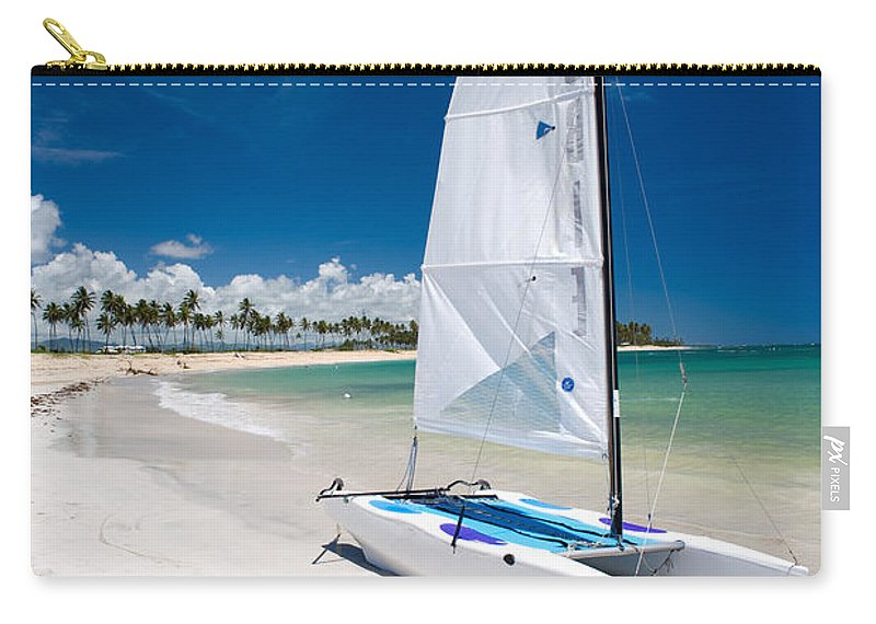 Island Carry-all Pouch featuring the photograph Paradise Island by Sebastian Musial
