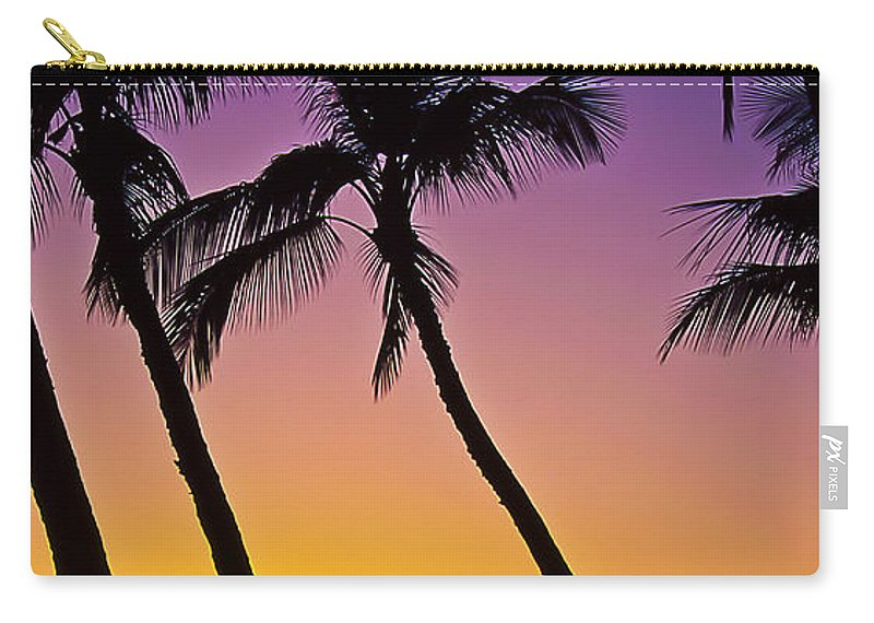 Sunset Carry-all Pouch featuring the photograph Paradise by Jim Cazel
