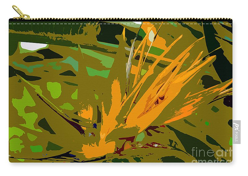 Paradise Carry-all Pouch featuring the photograph Paradise Work Number 9 by David Lee Thompson