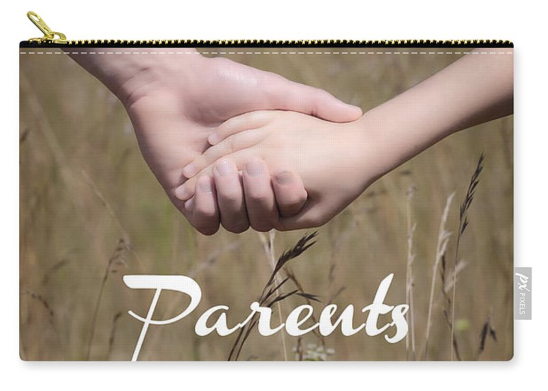 Child Carry-all Pouch featuring the photograph Parents For A Lifetime by Joana Kruse