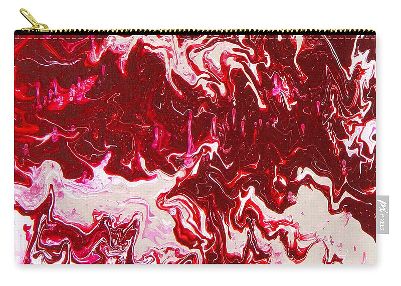 Fusionart Carry-all Pouch featuring the painting Parfait by Ralph White