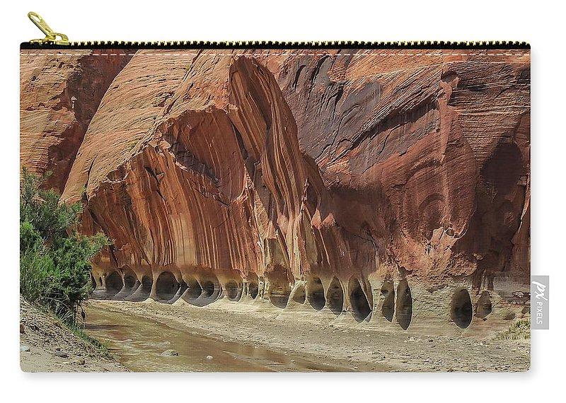 Paria Carry-all Pouch featuring the photograph Paria River In Paria Canyon-vermillion Cliffs Wilderness by NaturesPix