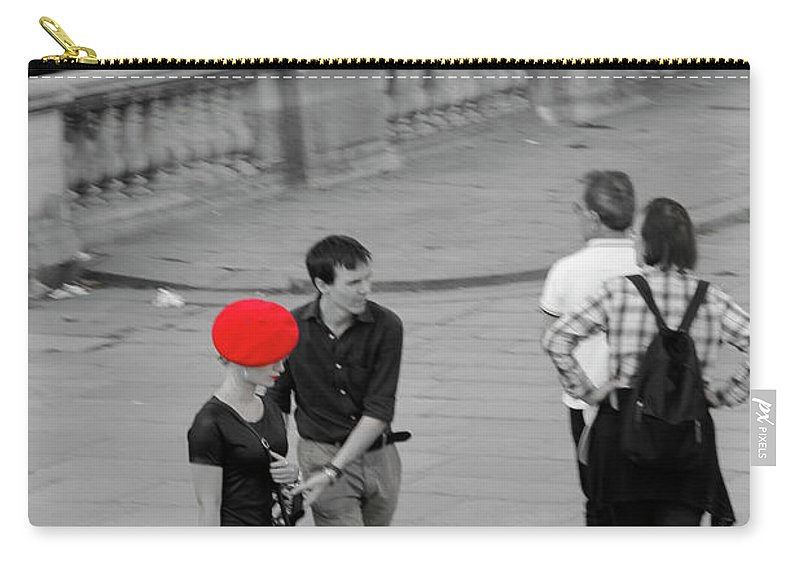 Paris Carry-all Pouch featuring the photograph Paris Forever by Robert Dombi