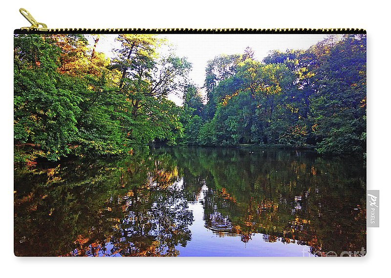 Park Carry-all Pouch featuring the photograph Park Maksimir - Zagreb, Croatia No. 4 by Jasna Dragun