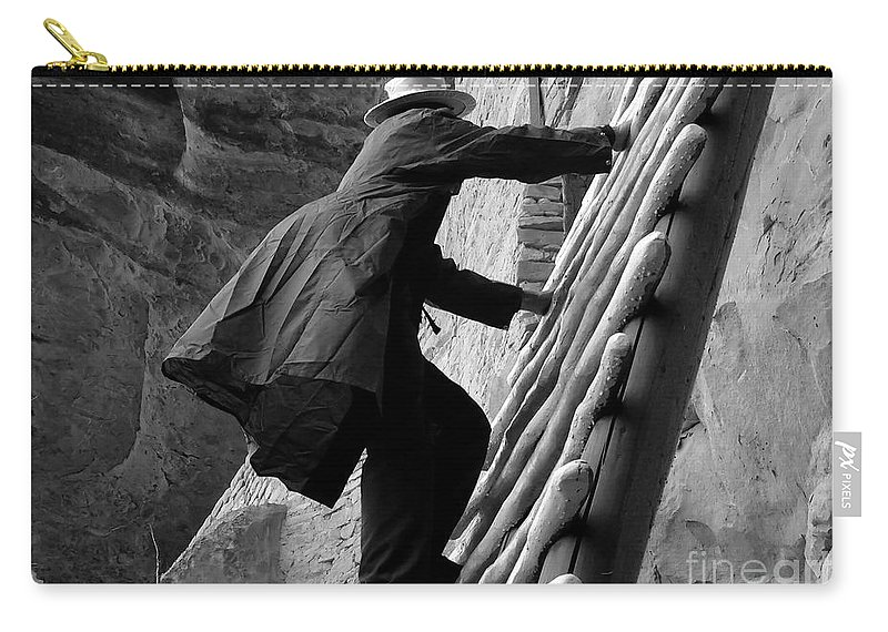 Park Ranger Carry-all Pouch featuring the photograph Park Ranger by David Lee Thompson