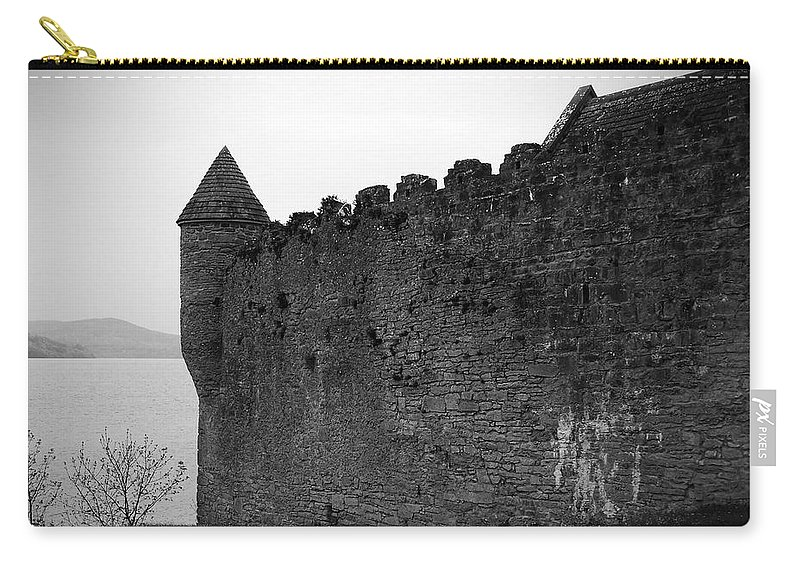 Ireland Carry-all Pouch featuring the photograph Parkes Castle County Leitrim Ireland by Teresa Mucha