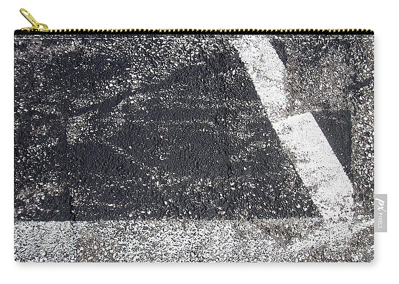 Parking Lot Carry-all Pouch featuring the photograph Parking Lot 2 by Anita Burgermeister