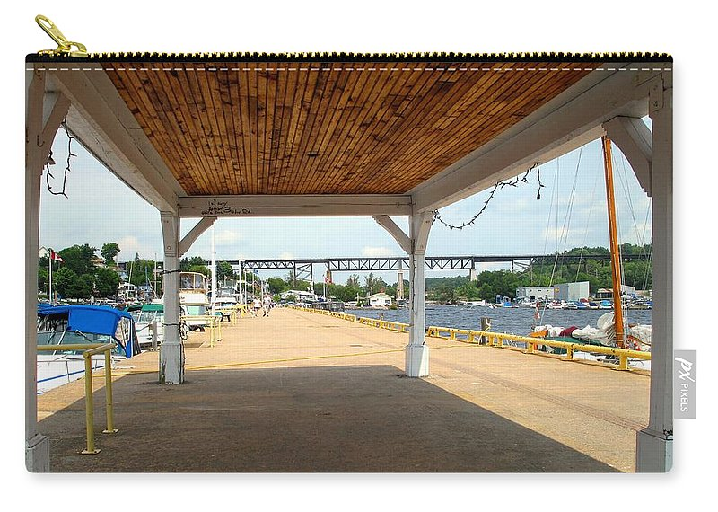 Parry Sound Carry-all Pouch featuring the photograph Parry Sound by Ian MacDonald