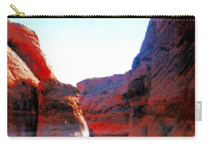 Passage Carry-all Pouch featuring the photograph Passage by Kristin Elmquist