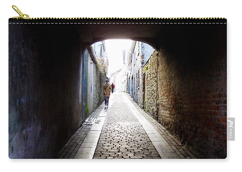 Cooblestone Carry-all Pouch featuring the photograph Passage by Tim Nyberg