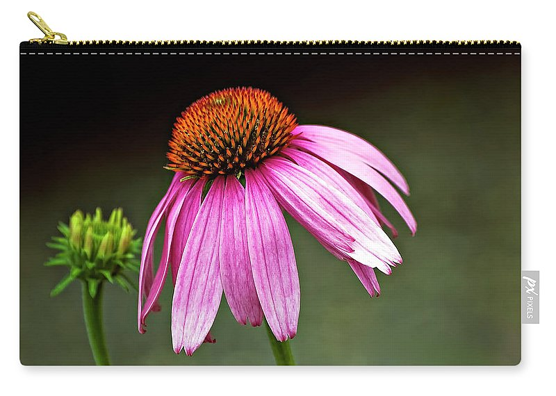 Flower Carry-all Pouch featuring the photograph Passages by Steve Harrington