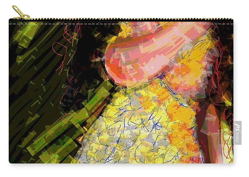 Love Carry-all Pouch featuring the digital art Passion And Love by Subrata Bose