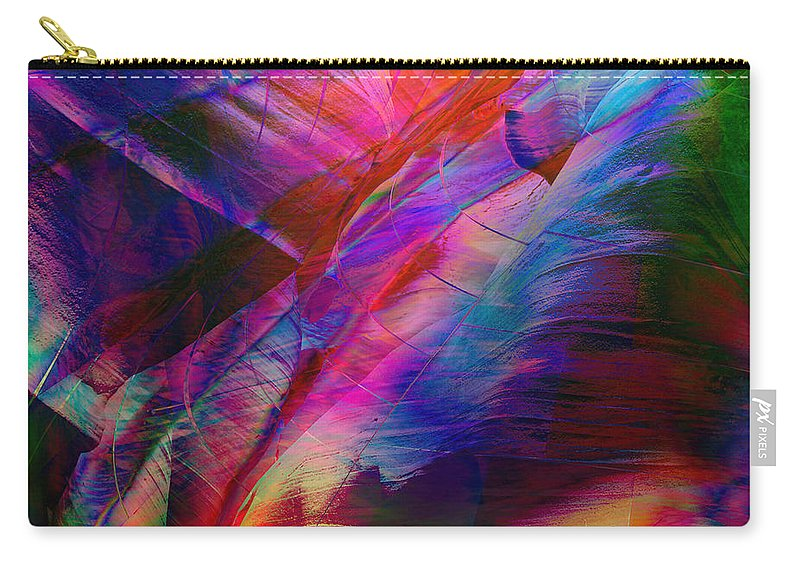 Abstract Carry-all Pouch featuring the digital art Passion by Barbara Berney