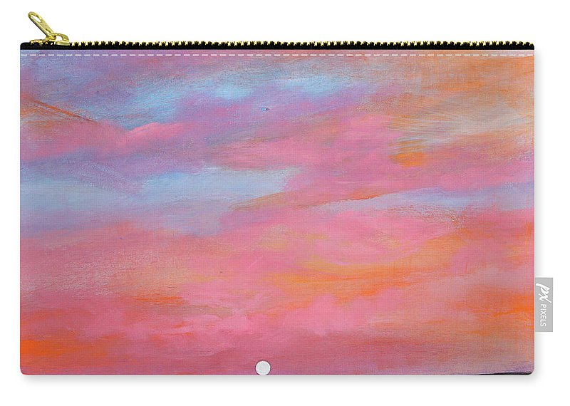 Sunrise Carry-all Pouch featuring the painting Passion Beach by Toni Grote