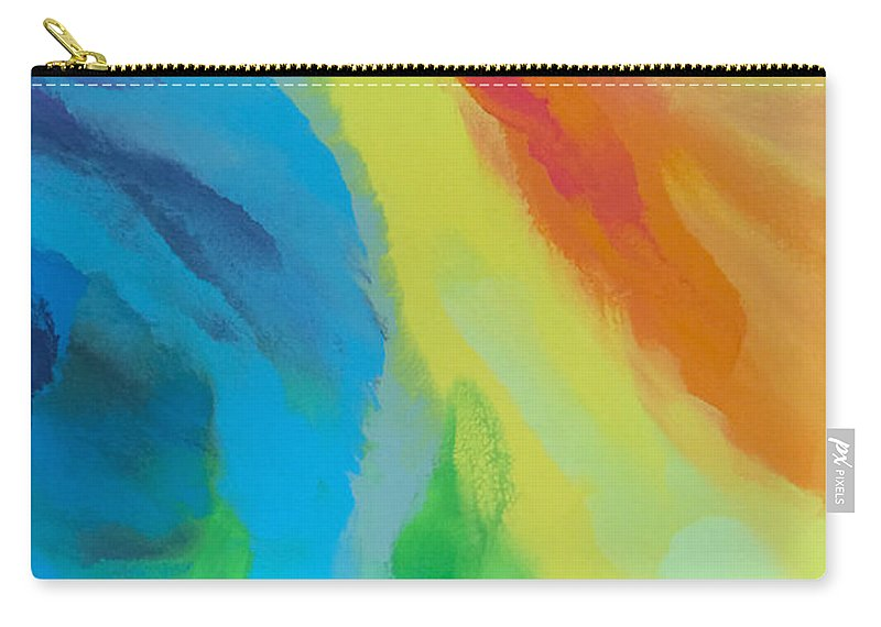 Passion Carry-all Pouch featuring the painting Passion by Linda Bailey