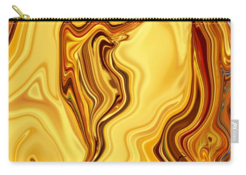 Abstract Carry-all Pouch featuring the digital art Passion by Rabi Khan