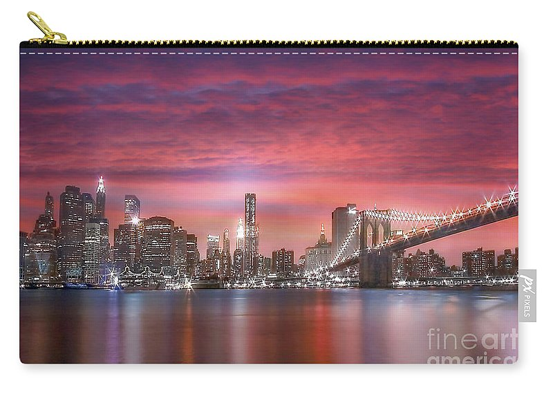 New York Carry-all Pouch featuring the photograph Passionata by Evelina Kremsdorf