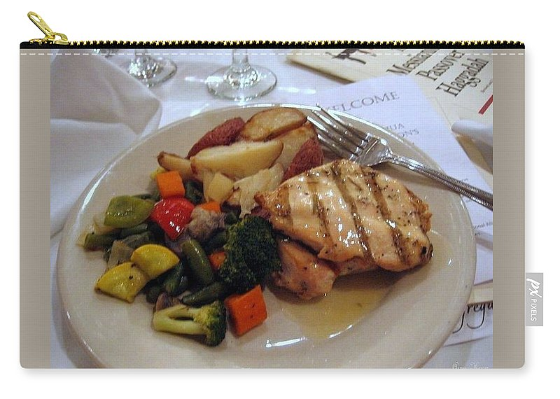 Passover Meal Carry-all Pouch featuring the photograph Passover Meal by Amy Hosp