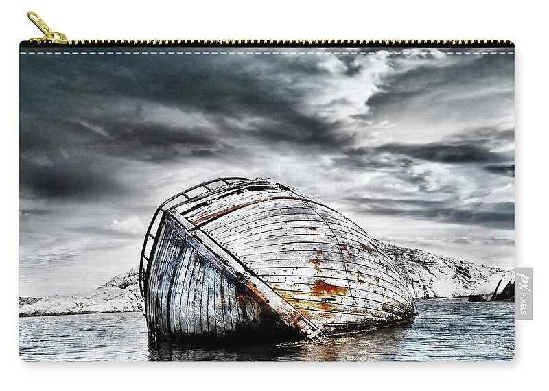Photodream Carry-all Pouch featuring the photograph Past Glory by Jacky Gerritsen