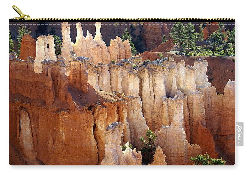 Bryce Canyon National Park Carry-all Pouch featuring the photograph Pastel Bryce by Marty Koch