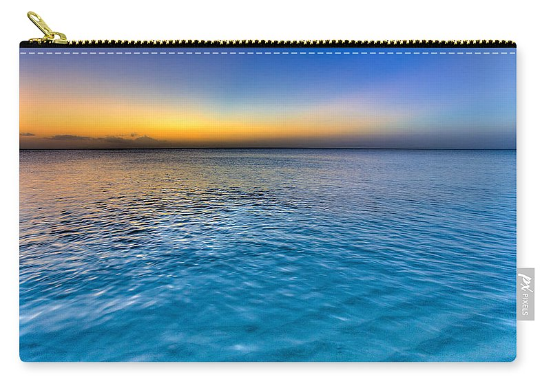 Pastel Ocean Carry-all Pouch featuring the photograph Pastel Ocean by Chad Dutson