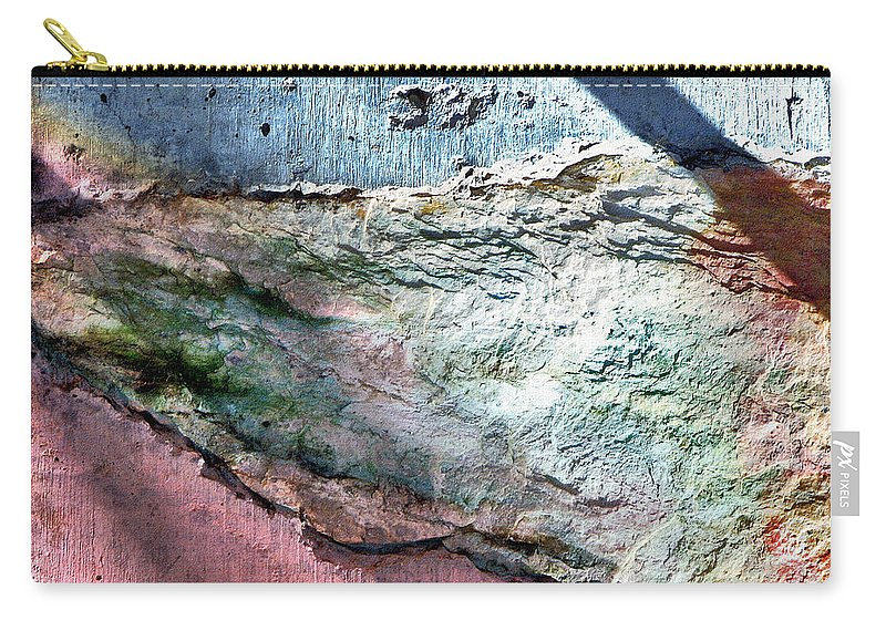 Pastel Shadows Carry-all Pouch featuring the photograph Pastel Shadows by Lisa S Baker