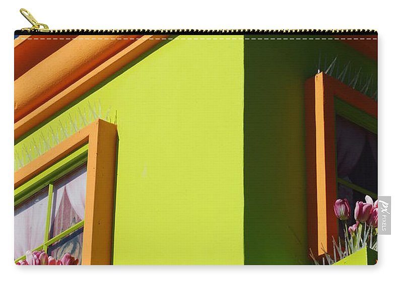 Sky Carry-all Pouch featuring the photograph Pastle Corners by Rob Hans