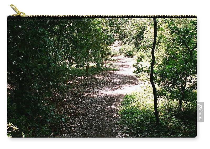 Path Carry-all Pouch featuring the photograph Path by Dean Triolo