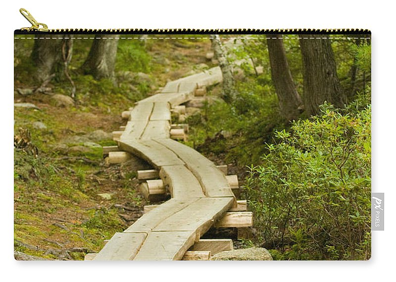 Forest Carry-all Pouch featuring the photograph Path Into Unknown by Sebastian Musial