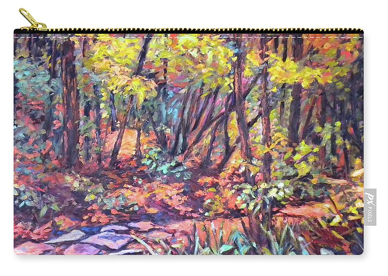 Landscape Carry-all Pouch featuring the painting Path Near Pandapas by Kendall Kessler