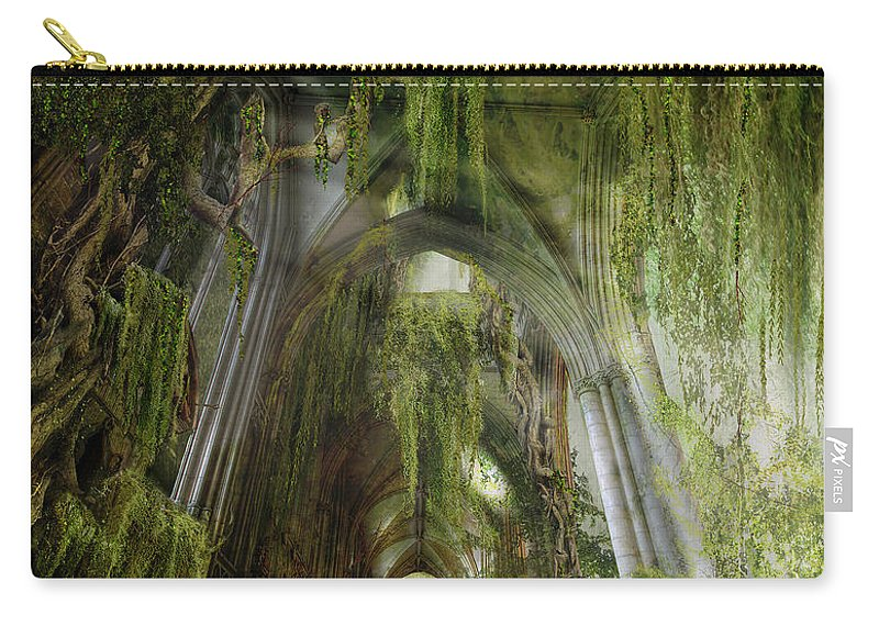 Westminster Carry-all Pouch featuring the photograph Path To Inner Peace by Karen Koski