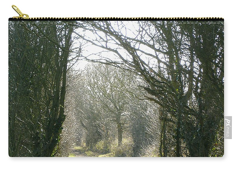 Path Carry-all Pouch featuring the photograph Path To Wherever by Susan Baker