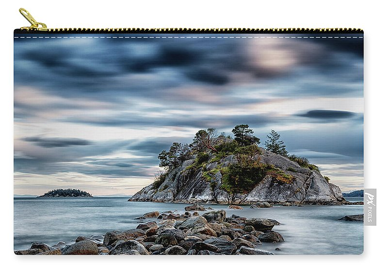 Vancouver Carry-all Pouch featuring the photograph Path To Whyte Island by Stephen Stookey