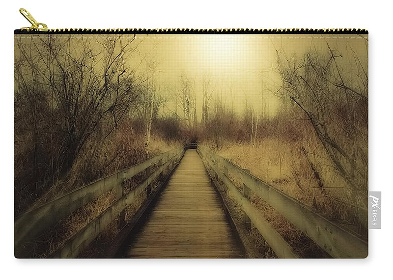 Jeanmarie Shelton Carry-all Pouch featuring the photograph Pathway by Jeanmarie Shelton