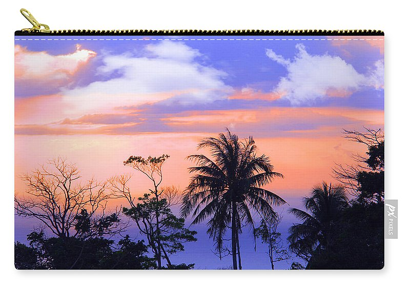 Phuket Carry-all Pouch featuring the photograph Patong Thailand by Mark Ashkenazi