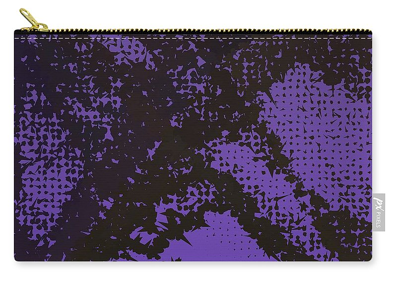 Pattern 104 Carry-all Pouch featuring the digital art Pattern 104 by Marko Sabotin