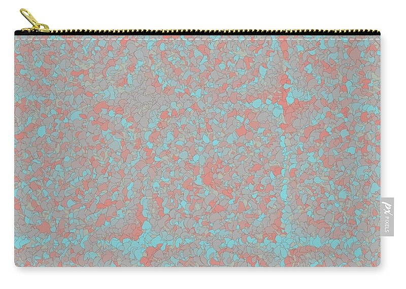 Pattern 57 Carry-all Pouch featuring the digital art Pattern 57 by Marko Sabotin