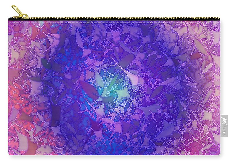 Pattern 60 Carry-all Pouch featuring the digital art Pattern 60 by Marko Sabotin
