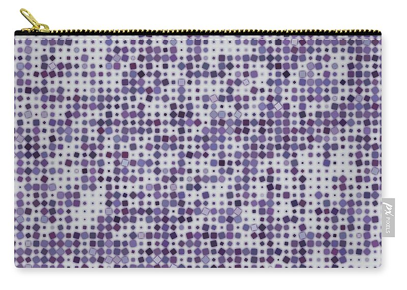 Pattern 63 Carry-all Pouch featuring the digital art Pattern 63 by Marko Sabotin