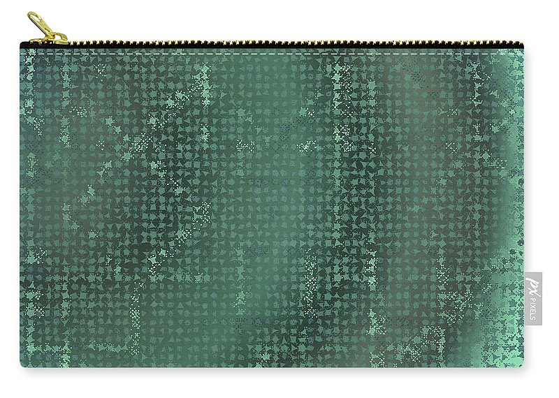 Pattern 69 Carry-all Pouch featuring the digital art Pattern 69 by Marko Sabotin